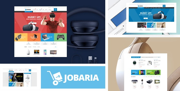 Jobaria - Technology Theme for WooCommerce WordPress - WooCommerce eCommerce