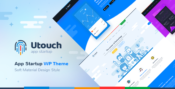 Utouch Startup - Multi-Purpose Business and Digital Technology WordPress Theme - Software Technology
