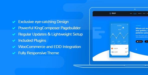 Utouch - Multi-Purpose Business and Digital Technology WordPress Theme