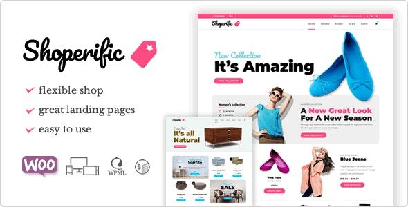 Shoperific - Theme for Small Shops - WooCommerce eCommerce