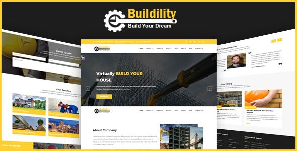 Buildility - Construction Building Company - Business Corporate