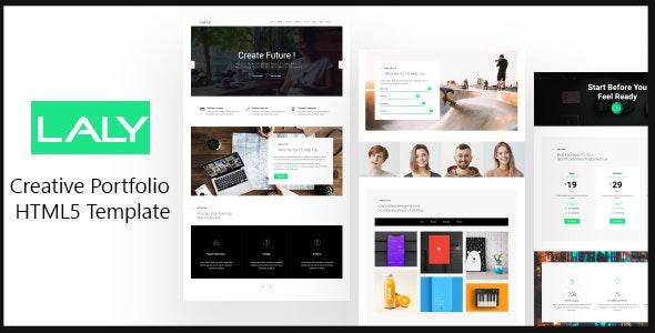 laly - Creative Portfolio HTML5 Template - Creative Site Templates