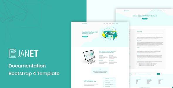 Janet – Online Documentation, Knowledge Base, Help Desk Template
