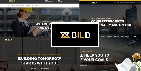 Bild | Building, Construction Multi-Purpose Drupal 8.8 Theme - Business Corporate