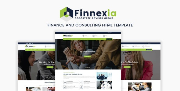 Finnexia - Responsive Finance & Consulting HTML Template - Business Corporate