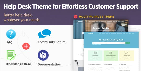 Manual - Multi-Purpose Online Documentation, Knowledge Base & Creative WordPress Theme