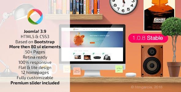 Progressive :: Multipurpose Joomla Template