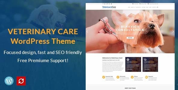 VetBox - Veterinary & Pet Care WordPress Theme - Health & Beauty Retail