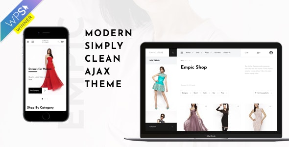 Empic - Ajax Powered Multi-Concept WooCommerce Theme - WooCommerce eCommerce