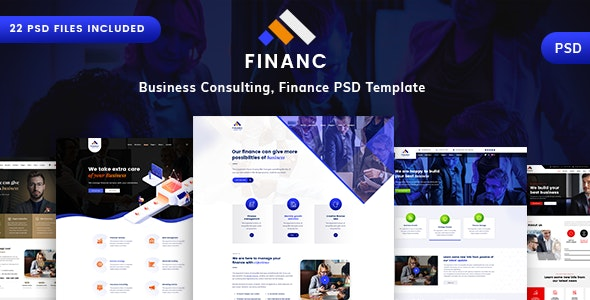 Finano - Business & Consulting PSD - Business Corporate