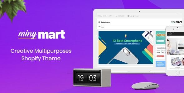 Minymart - Creative Multipurpose Shopify Theme - Shopify eCommerce