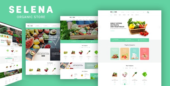 Selena - Organic Responsive Prestashop Theme - Health & Beauty PrestaShop