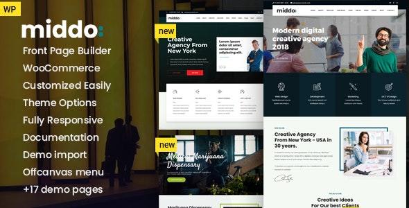 Middo - Modern & Clean Multiporpose WordPress Theme - WordPress