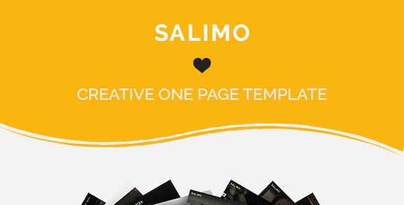 Salimo - One Page Parallax Drupal 8.9 Theme