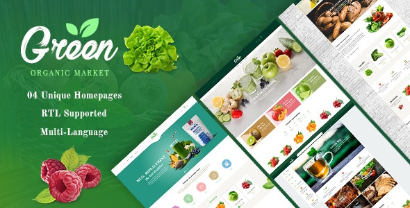 GreenLife - PrestaShop 1.7 Theme - Organic, Fresh Food, Farm - Health & Beauty PrestaShop