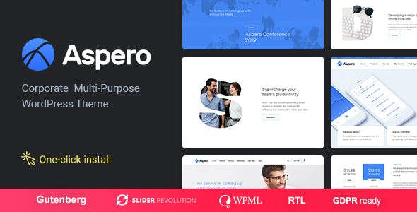 Aspero - Business WordPress Theme by cmsmasters