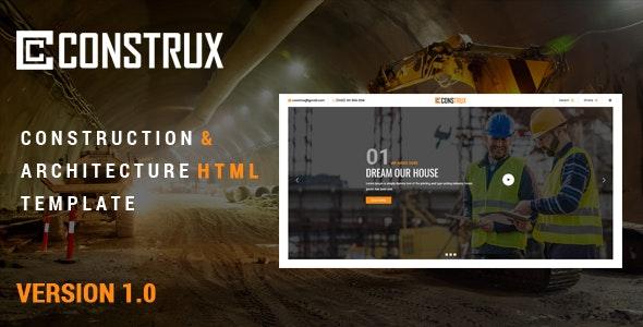 Construx - Construction & Building - Business Corporate