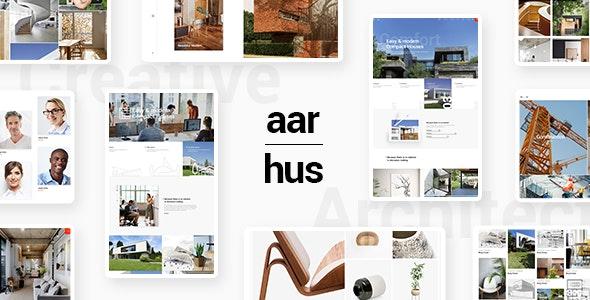 Aarhus - Modern Architecture Theme - Portfolio Creative