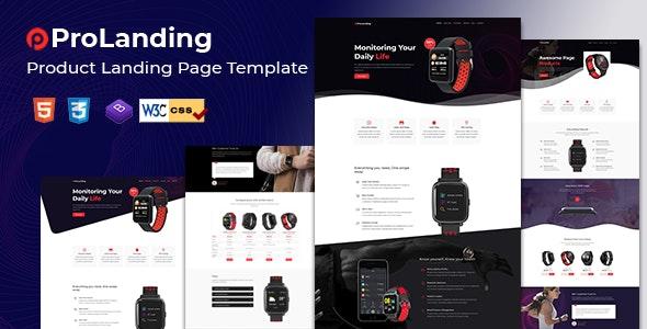 Prolanding - Product Landing Page - Marketing Corporate