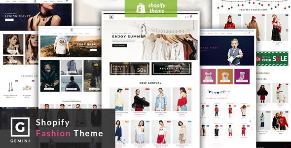 Gemini - Responsive Shopify Fashion Theme by adartstudio | ThemeForest