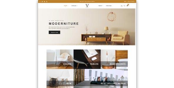 Virgo - Shopify Furniture, Accessories, Bouquet, Beauty, Multipurpose theme