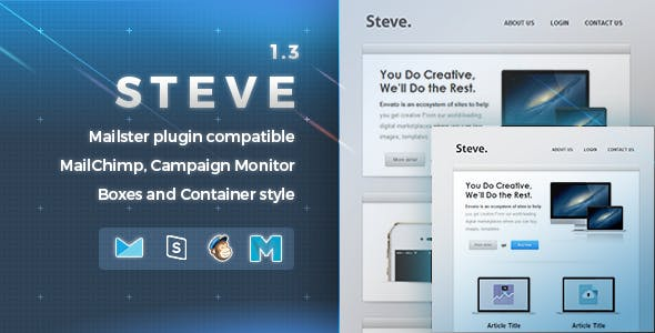 Steve | Responsive Email Template