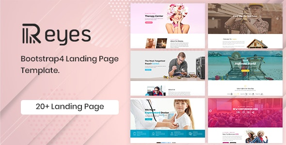 Reyes - Multipurpose Landing Page HTML Template - Business Corporate