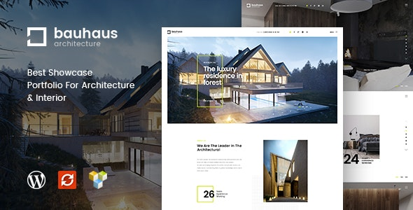 Bauhaus - Architecture & Interior WordPress Theme - Business Corporate