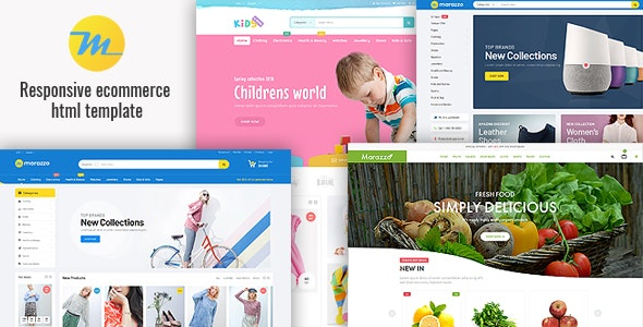 Marazzo - Responsive Ecommerce HTML5 Template - Fashion Retail