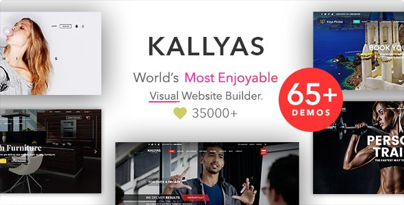 KALLYAS - Creative eCommerce Multi-Purpose WordPress Theme - Creative WordPress