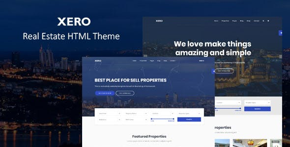 Real Estate Listing Templates from ThemeForest