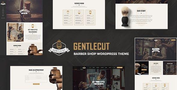 Gentlecut - Hair Salon and Barbershop WordPress Theme