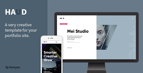 Haud - Creative Portfolio Template