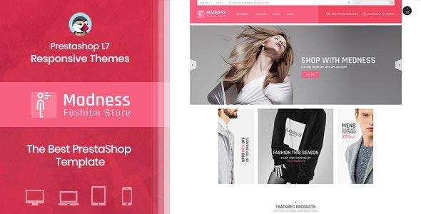 Madness - Multipurpose Responsive Prestashop Theme - Fashion PrestaShop