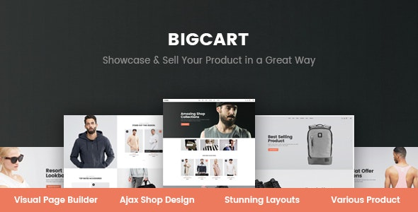 Bigcart - Clean, Modern WordPress Theme for WooCommerce - WooCommerce eCommerce