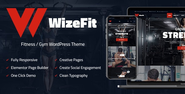 WizeFit - Fitness and Gym - Health & Beauty Retail