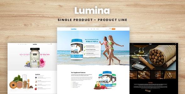 Lumina - Single Product, Product Line Shopify Theme - Health & Beauty Shopify