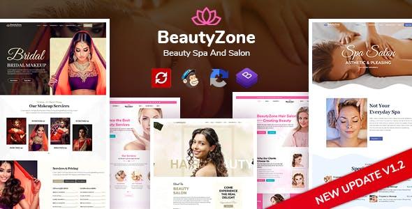 BeautyZone: Beauty Spa Salon & Massage HTML Template