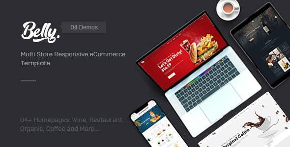 Belly - Multipurpose eCommerce HTML Template - Food Retail