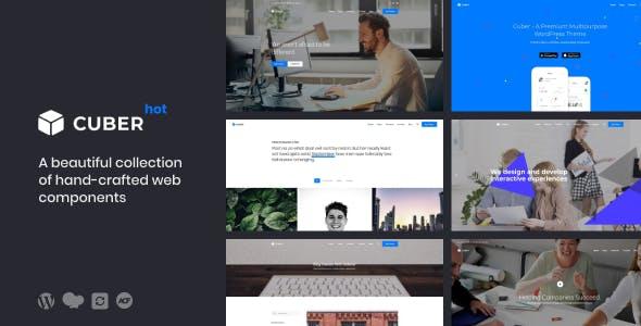 Cuber | Responsive Multipurpose WordPress Theme