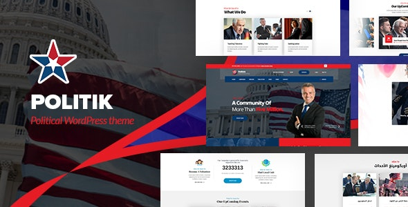 Politik - Political WordPress Theme - Political Nonprofit