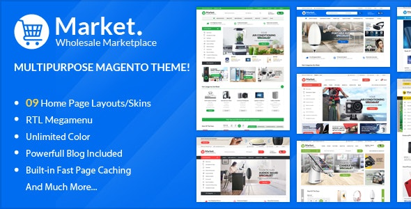 ALO Market - Responsive Magento 2 Theme | RTL supported - Magento eCommerce