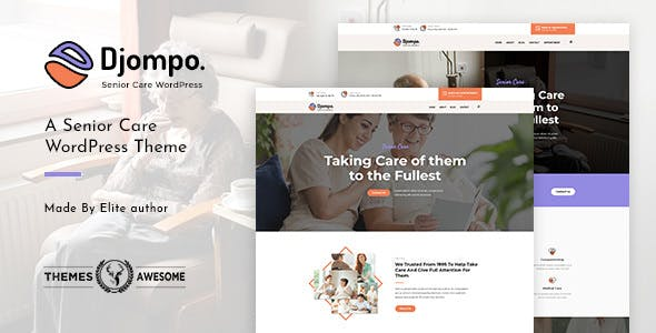 15 Best Elderly Care WordPress Themes for Senior Care, Assisted Living Websites 2019
