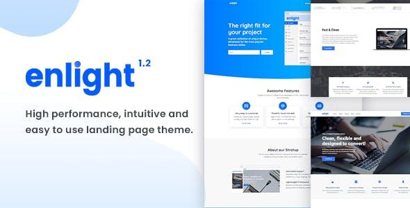 Enlight - Multipurpose Landing Page Theme