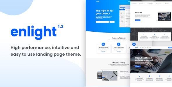 Enlight - Multipurpose Landing Page Theme - Marketing Corporate
