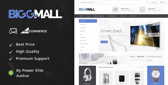 BiggMall - Multipurpose Stencil BigCommerce Theme - BigCommerce eCommerce