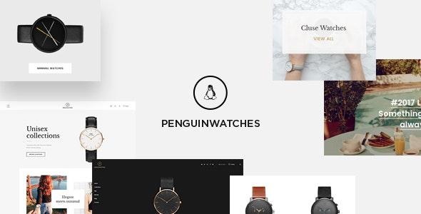 Leo Penguinwatch Prestashop 1.7 Theme For Watches Fashion - Shopping PrestaShop