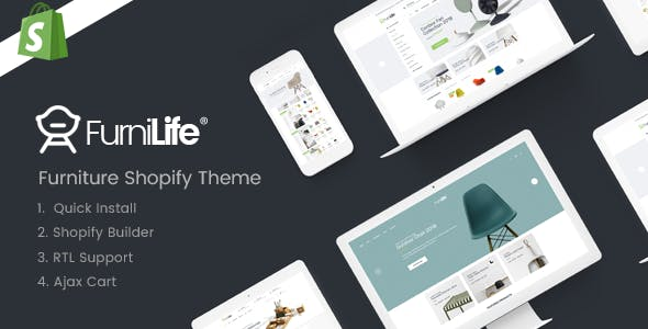 Furnilife - Furniture Shopify Theme