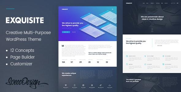 Exquisite - Creative Multi-Purpose WordPress Theme - Creative WordPress