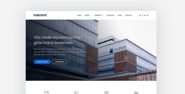 Exquisite - Creative Multi-Purpose WordPress Theme
